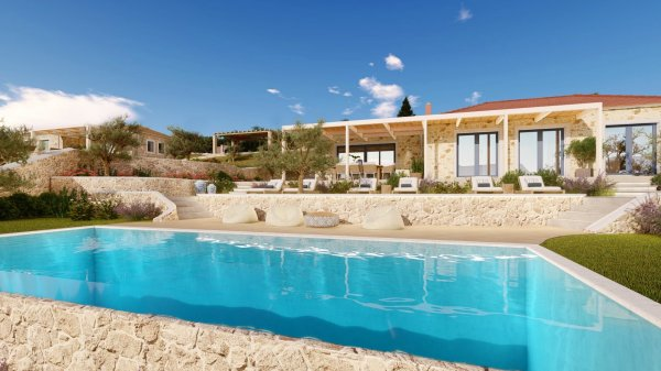 Villa with Magnificent views of the Acheron Valley.